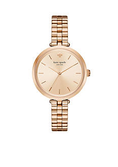 kate spade new york Women's Holland Rose-Gold Tone Bracelet Watch