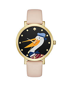 kate spade new york Women's Metro Novelty Light Brown Watch