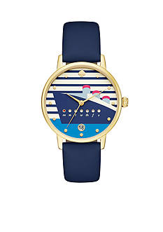 Kate Spade Women's Metro Blue Watch