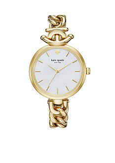 kate spade new york Women's Holland Gold-Tone Chain Watch