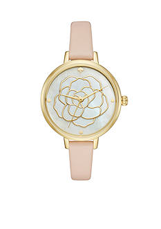 kate spade new york Women's Holland Rose Cut Out Watch