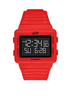 Skechers Men's Digital Red Watch