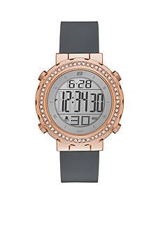 Skechers Women's Faymont Rose-Gold Tone Digital Chronograph Watch