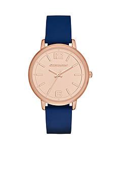 Skechers Women's Ardmore Blue Silicone Strap Watch