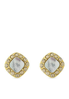 Cole Haan Mother Of Pearl Stud Earrings