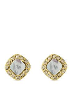 Cole Haan Mother Of Pearl Stud Earrings