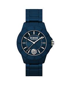 VERSUS VERSACE Men's Blue Silicone Watch
