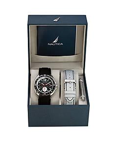 Nautica Multi Function Sport Ring Watch Box Set
