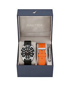 Nautica NST 07 Date Watch Box Set