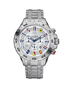 Nautica NST Chronograph Flag Watch