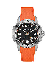 Nautica Men's Orange NCS 16 Chronograph Watch