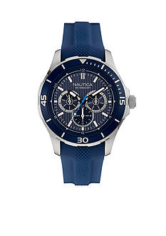 Nautica Men's Blue Silicone Watch