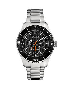 Nautica Men's Black Dial Watch