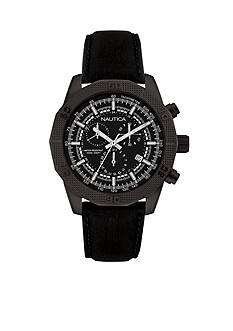 Nautica Men's Matte Black Watch