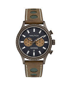 Nautica Men's NMS 02 Brown Watch
