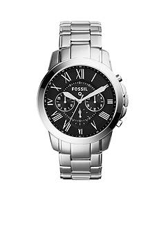 Fossil Men's Q Grant Chronograph Stainless Steel Watch