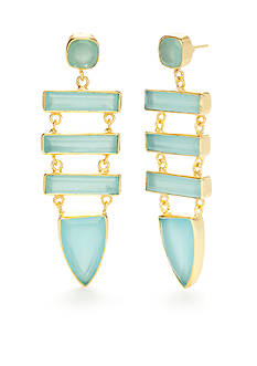 Reece Blaire Statement Drop Earrings