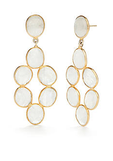 Reece Blaire Moonstone Dangle Earrings
