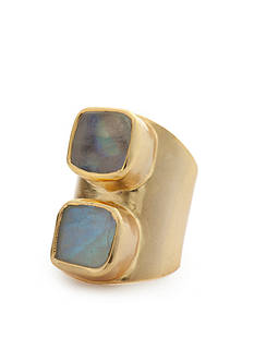 Reece Blaire Adjustable Gold-Tone Ring