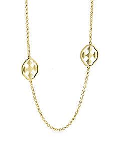 Gracewear Shield of Faith Linked Long Necklace