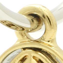 Hoop Earrings: Silver Gracewear SILVER LINKED MEDALLION HOOP EARRINGS- RHODIUM