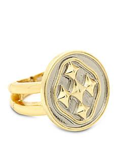 Gracewear Shield of Faith Linked Medallion Ring