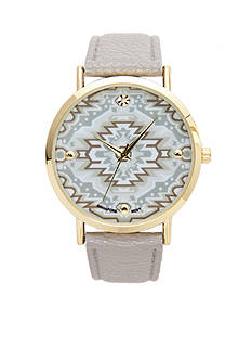 A Classic Time Watch Co. Women's Gray Tribal Watch