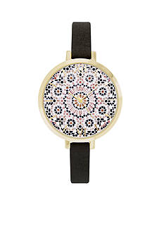 Jessica Carlyle Women's Sunburst Dial Watch