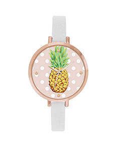 Jessica Carlyle Women's Pineapple Watch