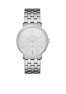 Chaps Men's Dunham Silver-Tone Bracelet Watch