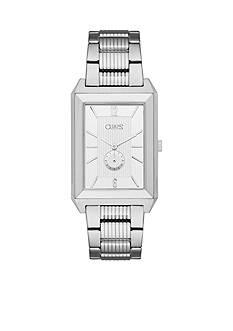 Chaps Men's Affiliate Silver-Tone Bracelet Watch