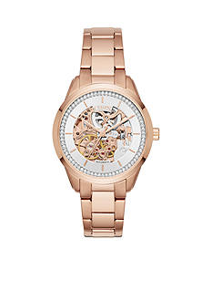 Chaps Women's Kasia Rose Gold-Tone Bracelet Watch