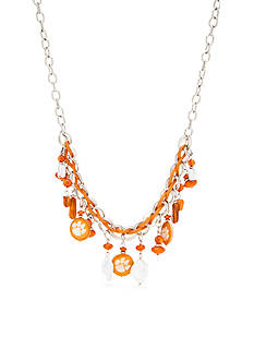 accessory PLAYS Silver-Tone Clemson Tigers Collar Necklace