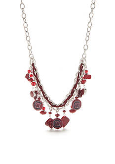 accessory PLAYS Silver-Tone South Carolina Gamecocks Bead And Chain Collar Necklace