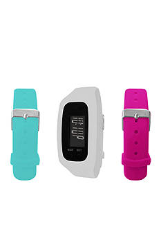 B FIT WATCH White LCD Tracker Watch