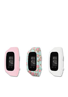 B FIT WATCH Women's Tracker LCD Interchangeable Strap Watch
