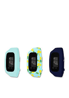B FIT WATCH Tracker LCD Blue Interchangeable Strap Watch
