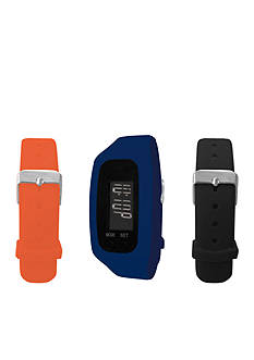 B FIT WATCH Navy LCD Tracker Watch