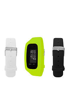 B FIT WATCH Green LCD Tracker Watch