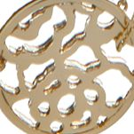 Fashion Pendant Necklace: Gold Vera Bradley Delicate Openwork Pendant Necklace