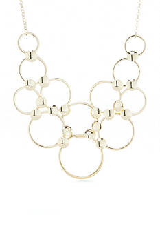 Vera Bradley Modern Elegance Ring Statement Necklace