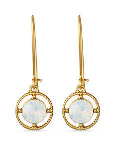 spartina 449 18 KT Gold-Plate Bazaar Drop Earrings