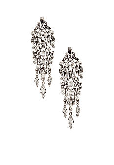 Ben-Amun Long Statement Chandelier Earrings