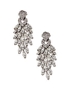 Ben-Amun Teardrop Statement Earrings