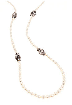 Ben-Amun Long Pearl Necklace