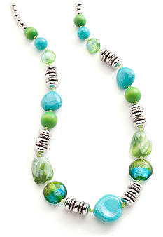 New Directions® Blue Paradise Single Strand Necklace