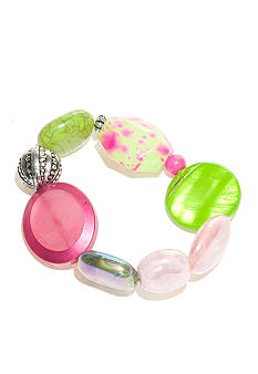 New Directions Strawberry Lime Stretch Bracelet