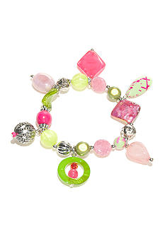 New Directions Strawberry Lime Stretch Trinket Bracelet