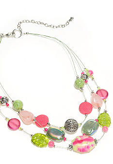 New Directions Strawberry Lime Illusion Necklace
