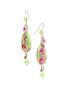 New Directions Strawberry Lime Drop Earrings